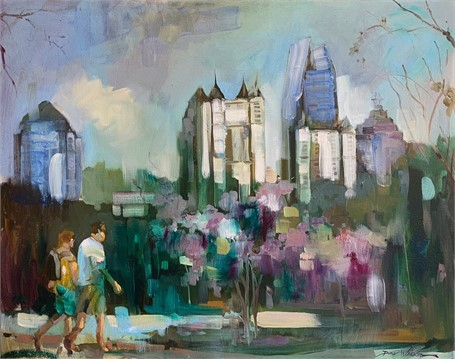 Piedmont Park in the Spring