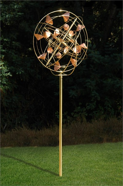 StrataSphere Kinetic Sculpture-Shipping $250
