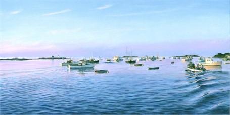 Cape Porpoise Dawn 16 x 32