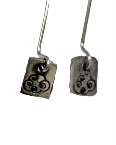 Earring - Silver Charms Cloud