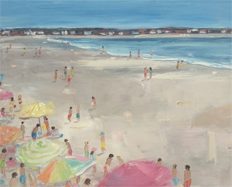 "Bethany Harper Williams | High on Summertime | Oil | 28"" X 22"" 