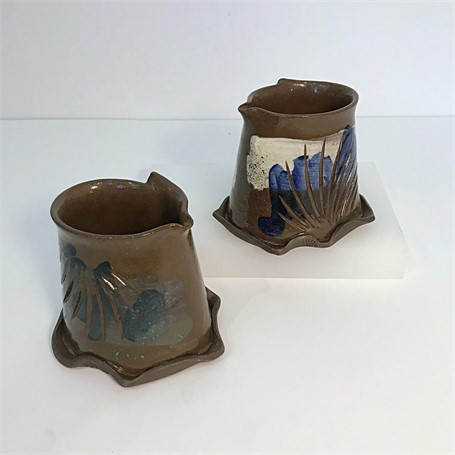 "Brendan Roddy | Small Coastal Pitcher | Ceramic | 5"" X 4"" 