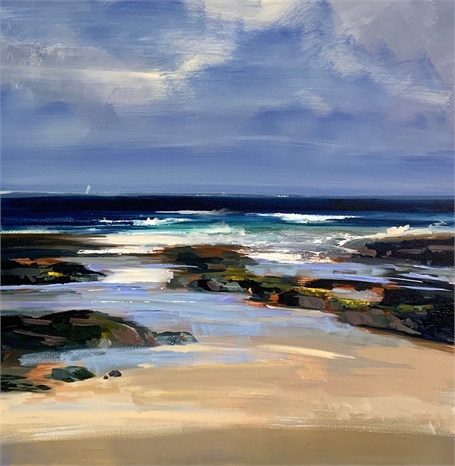 "Craig Mooney | Tidal Pool | Oil on Canvas | 36"" X 36"" 