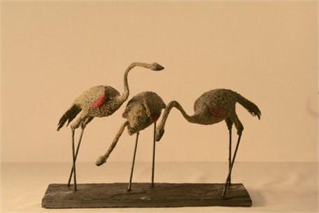 3 Ostriches