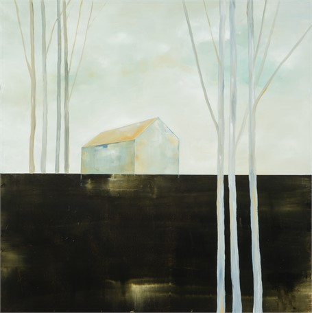"Ingunn Milla Joergensen | The Earth We Come From | Oil on Canvas | 36"" X 36"" 