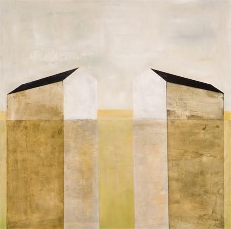 "Ingunn Milla Joergensen | Joined by the Sunrise | Oil on Canvas | 36"" X 36"" | $3,700.00"
