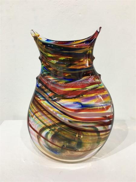 Flat Top Teardrop Vase