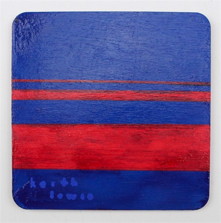 Red Stripes (1 Coaster)