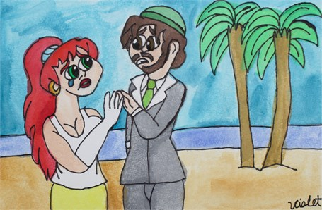 Sheila and Gerald on a Second Honeymoon (FRAMED)