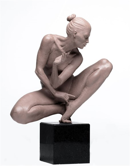 Crouching Dancer - Pre Cast 1 of 3 at 20% Thank You