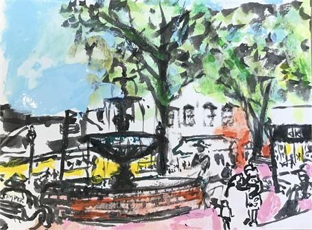 Glover Park Sketch 1