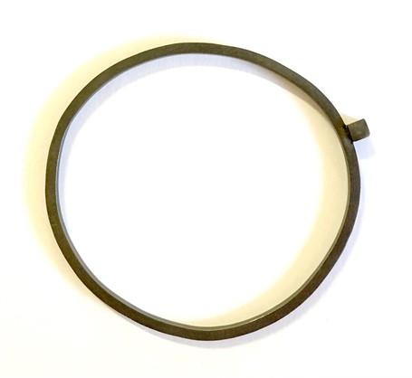 Bracelet: Square Stock Bangle with Square