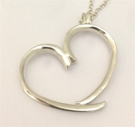 Necklace - Sterling Silver Heart