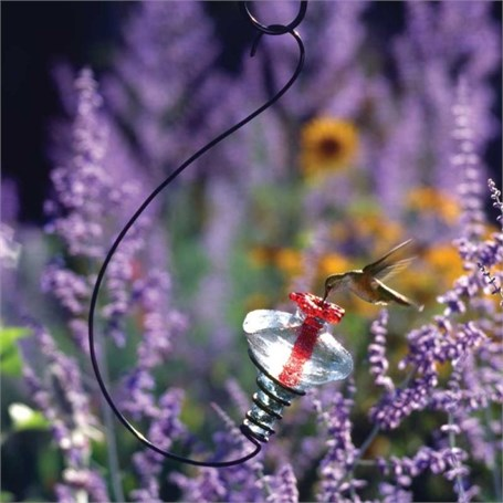 Hummingbird Feeder - Mini Blossom Hanging Assorted Colors