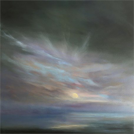 "Jennifer Clement | Daybreak | Oil on Canvas | 36"" X 36"" 