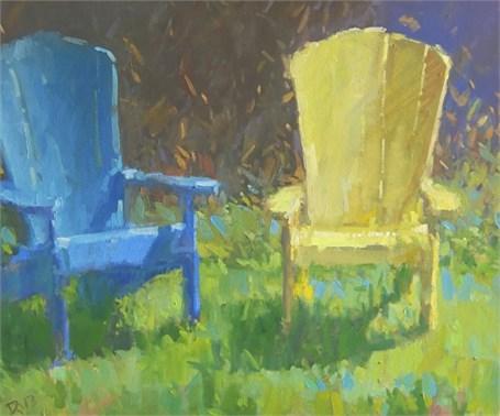 "Daniel J. Corey | Colors of Sunday | Oil | 20"" X 24"" | Sold"
