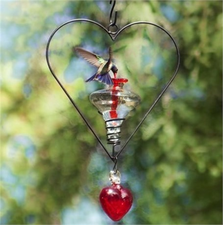 Hummingbird Feeders - Mini Blossom Corazon