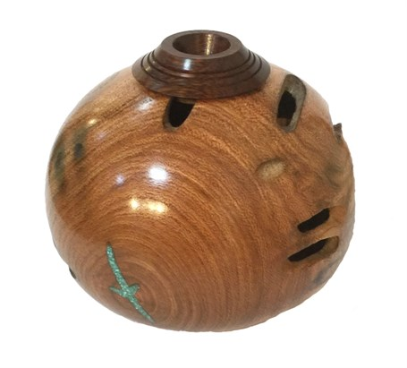 Wood - Mesquite Vessel 2132
