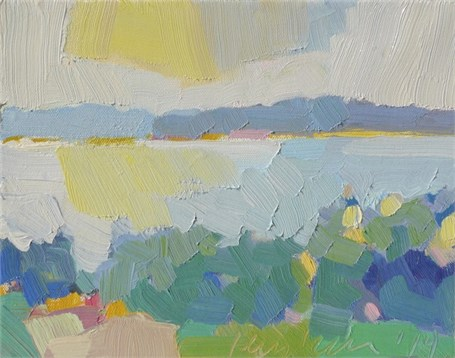 "Henry Isaacs | Gott Islands | Oil | 8"" X 10"" 