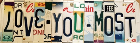 Lost License Plate - Love You Most