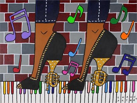 Trumpet Heels (FRAMED)