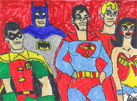 Super Friends (FRAMED)