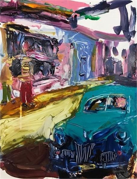 La Vida Cuba: Taxi - Blue Car
