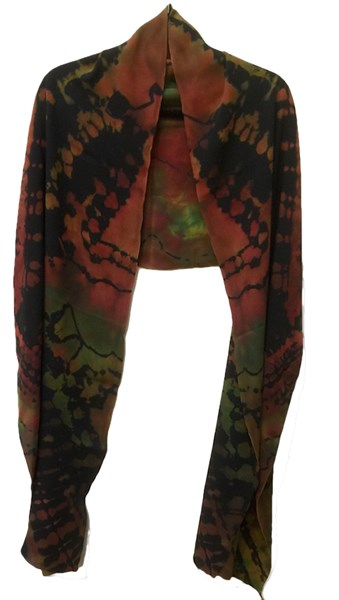 Wrap - Multi Reverse Shibori Georgette #106