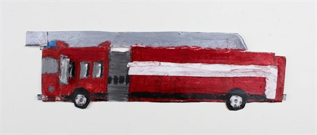 Fire Truck (FRAMED)