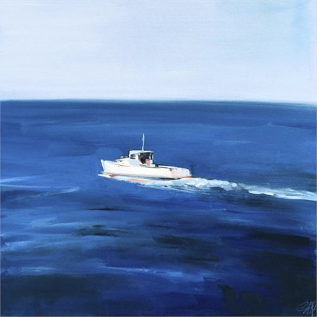 "Craig Mooney | Back Out to Sea | Oil | 24"" X 24"" 