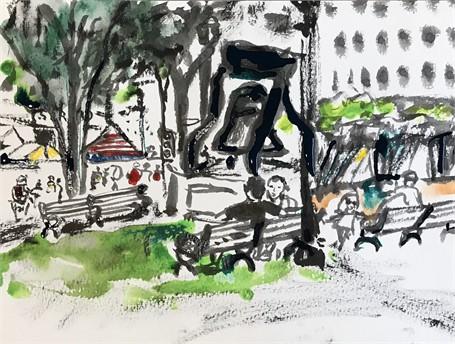Glover Park Sketch 4