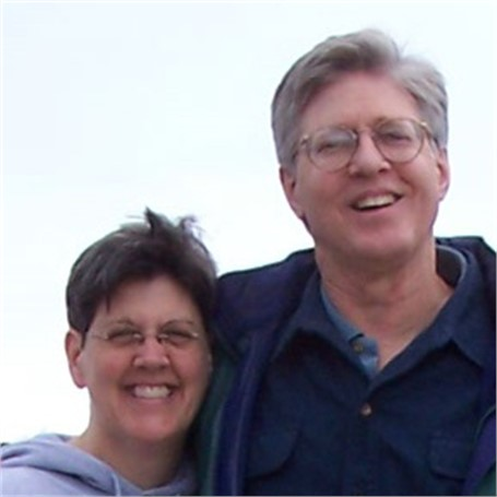 Lucie Boucher and Bernie Huebner