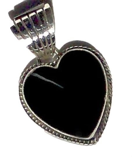 Pendant - Onyx Heart