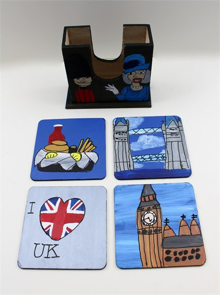 London (coaster set)