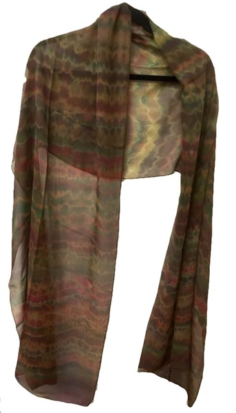 Wrap - Earth Tones Chiffon #105