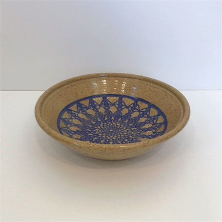 "Richard Winslow | Medium Shallow Bowl | Ceramic | 3"" X 10"" 