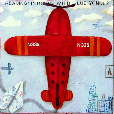 Heading: Into the Wild Blue Yonder
