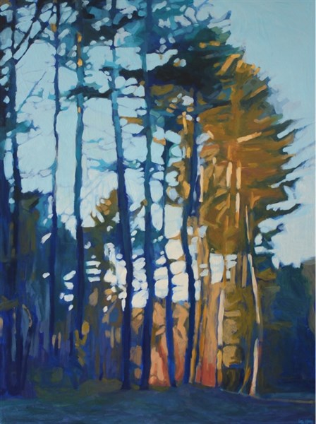 "Liz Hoag | Another Sunset II | Acrylic | 48"" X 36"" 