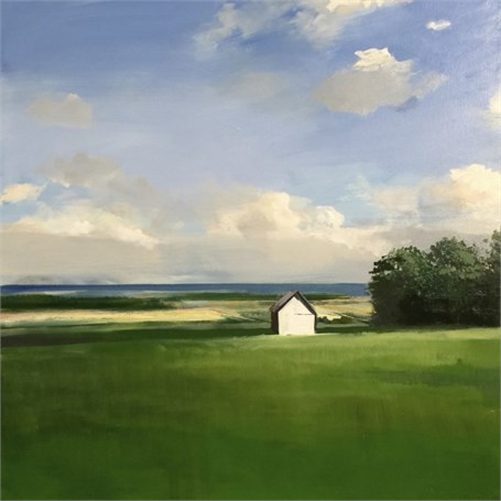 "Craig Mooney | White House | Oil | 42"" X 42"" 