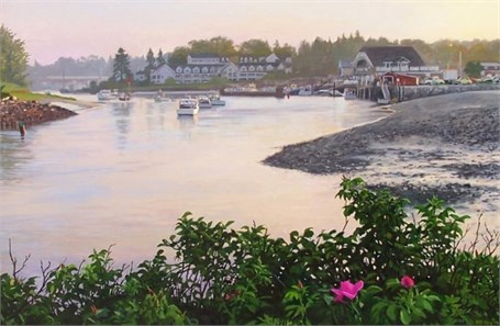 Kennebunkport from the Breakwater