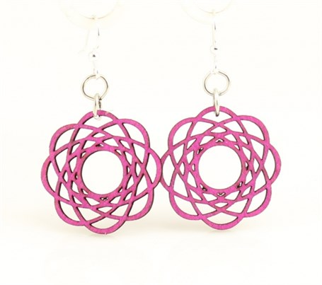 Earrings - Molecular Blossoms  141
