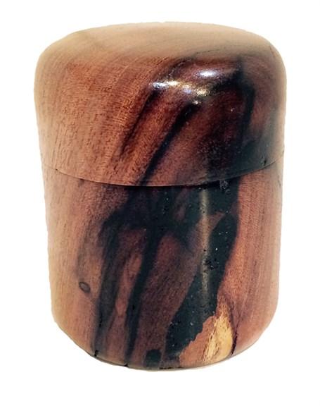 Box - Lidded Mesquite Capsule 2427