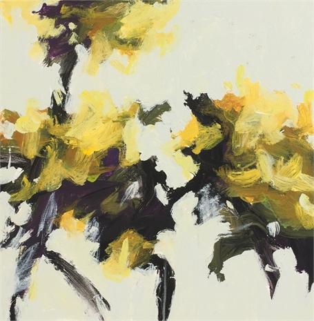 Wind Blown - Yellow I