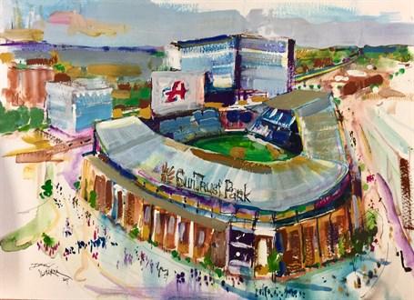 Suntrust Park: Home of the Braves