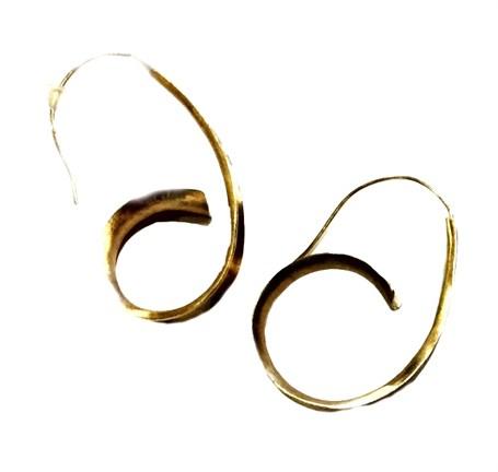Earring - Anticlastic 14k Gold