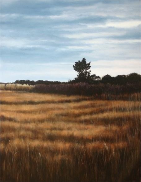 October Marsh Evening