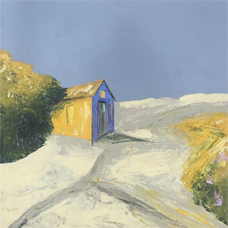 "Janis H. Sanders | Sand Shack | Oil | 24"" X 24"" 
