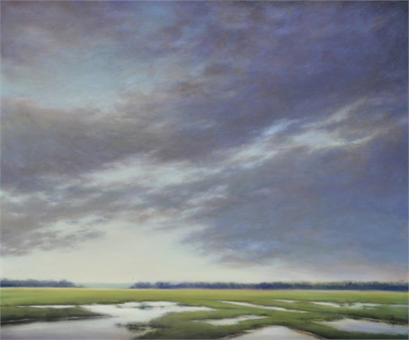 "Margaret Gerding | Morning Solitude | Oil on Canvas | 40"" X 48"" 