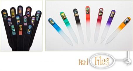 Art Glass Nail Files 3.5