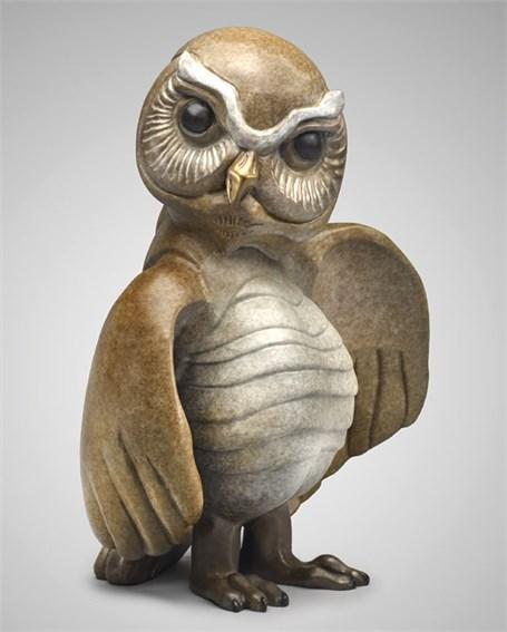 Standing Burrowing Owl